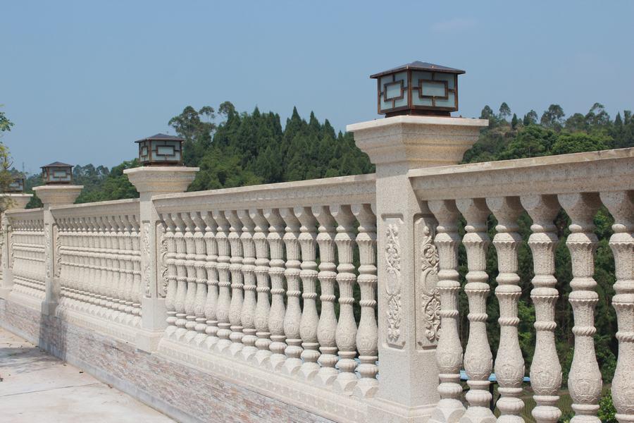 广安仿石栏杆