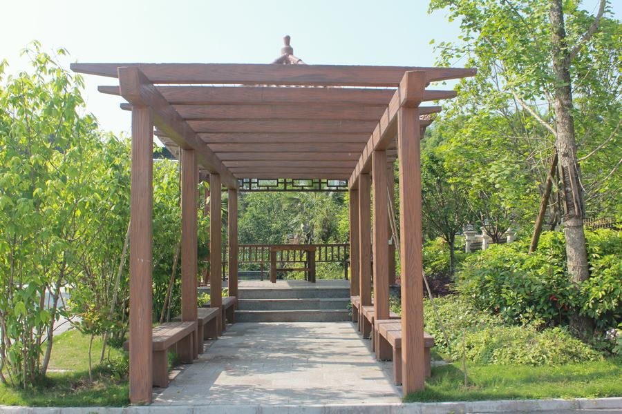 广安仿木栏杆